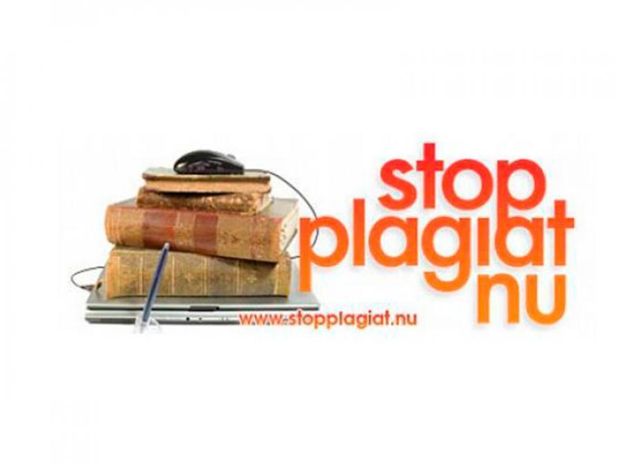 Stop plagiat nu logo