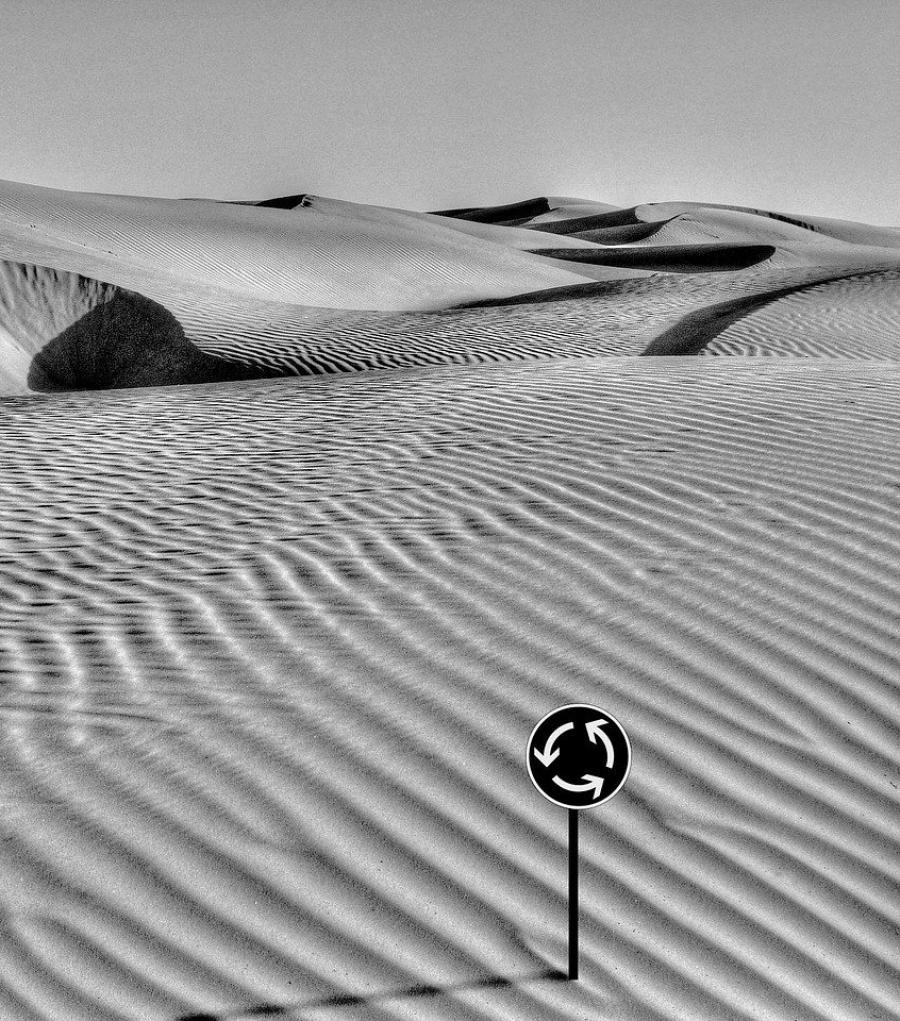 Billede af ørken