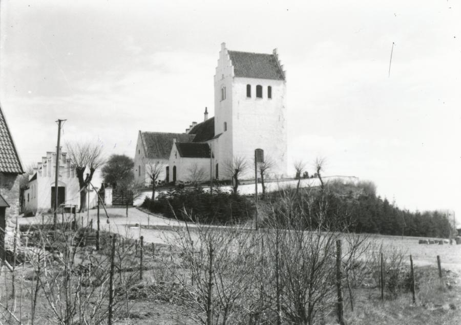 Fårevejle Kirke - ca. 1940