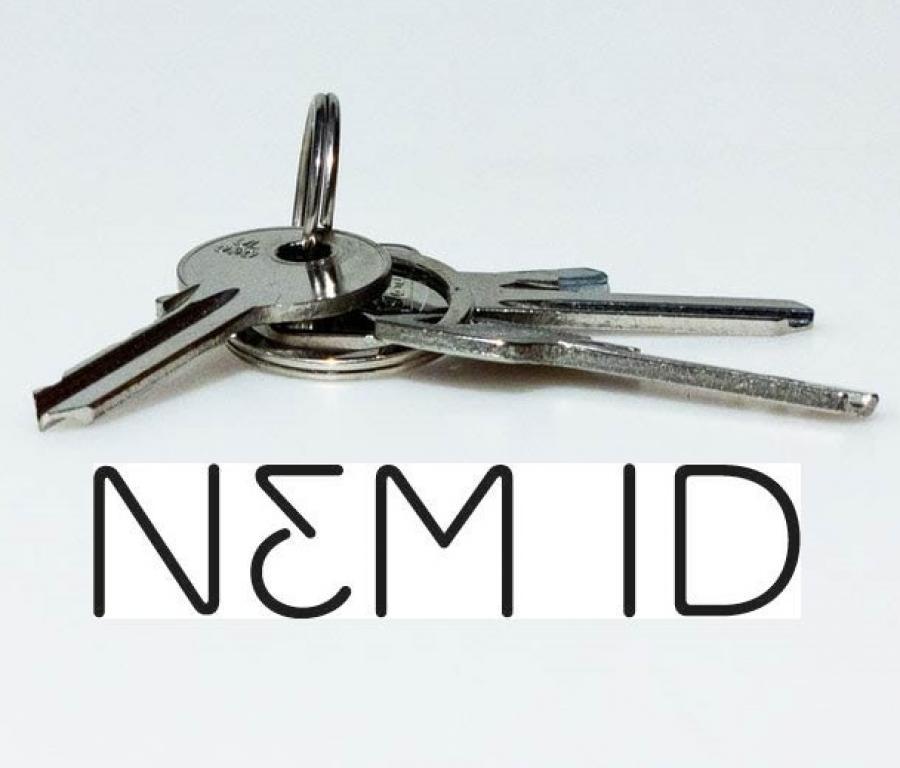 Nøgler og NemID logo