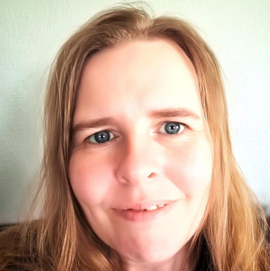 Børnebibliotekar Jannie Røskva Erlandsen