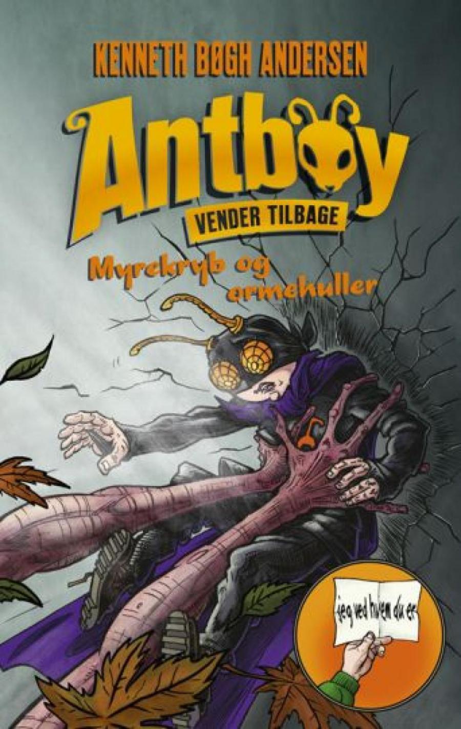 """Forsiden af bogen """"Antboy"""""""