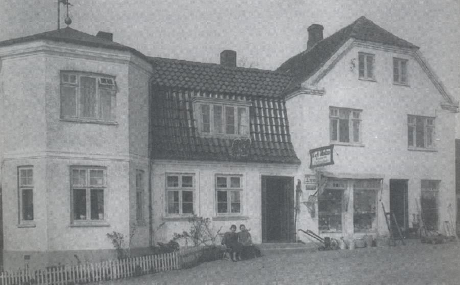 Asnæs Telefoncentral, ca. 1934