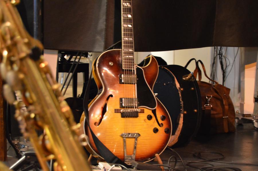 Instrumenter i spillestedet Pakhuset