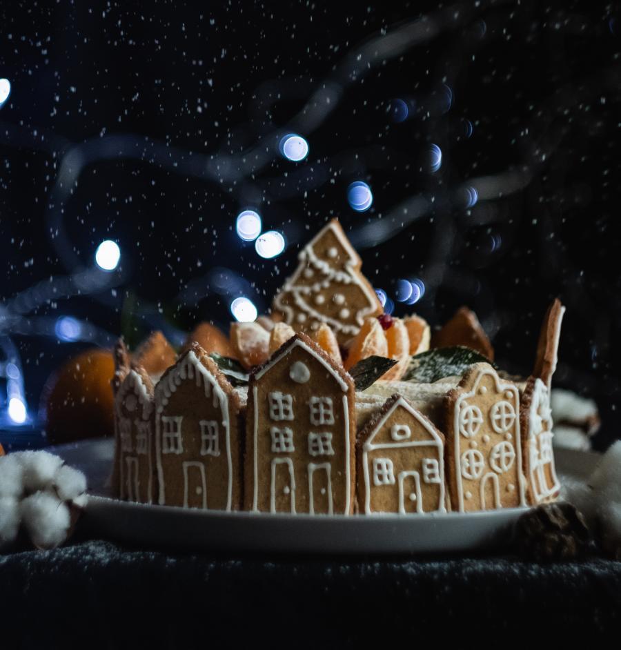 Jul på menuen - Peberkagehus