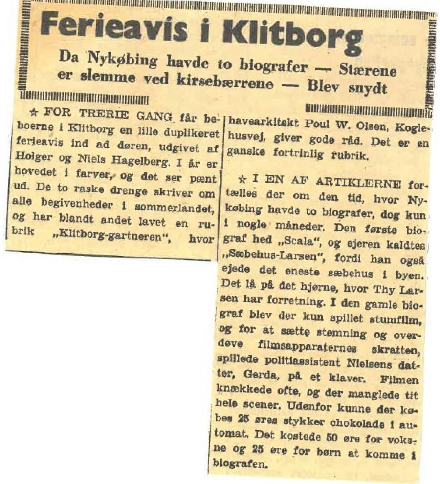 Klitborg Tidende