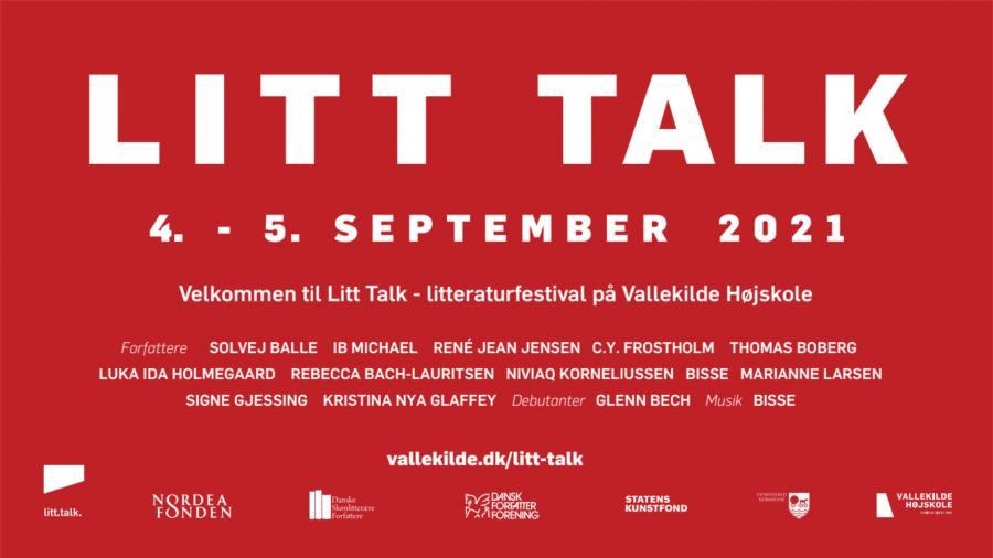 Litt Talk på Vallekilde Højskole 4. - 5. september