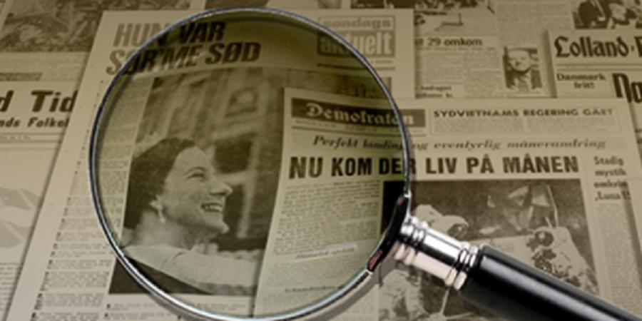 Billed af gamle aviser