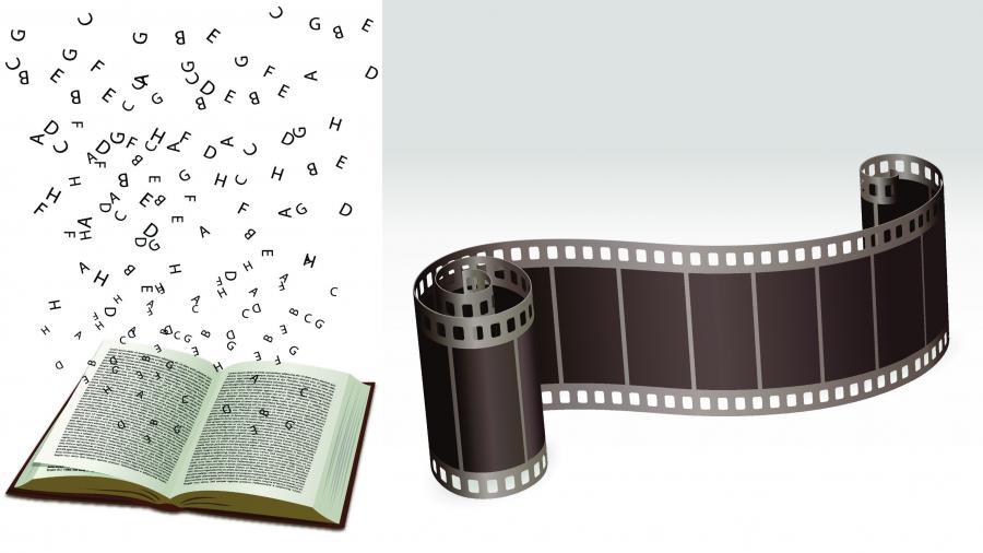 Mange serier er inspireret af bøger