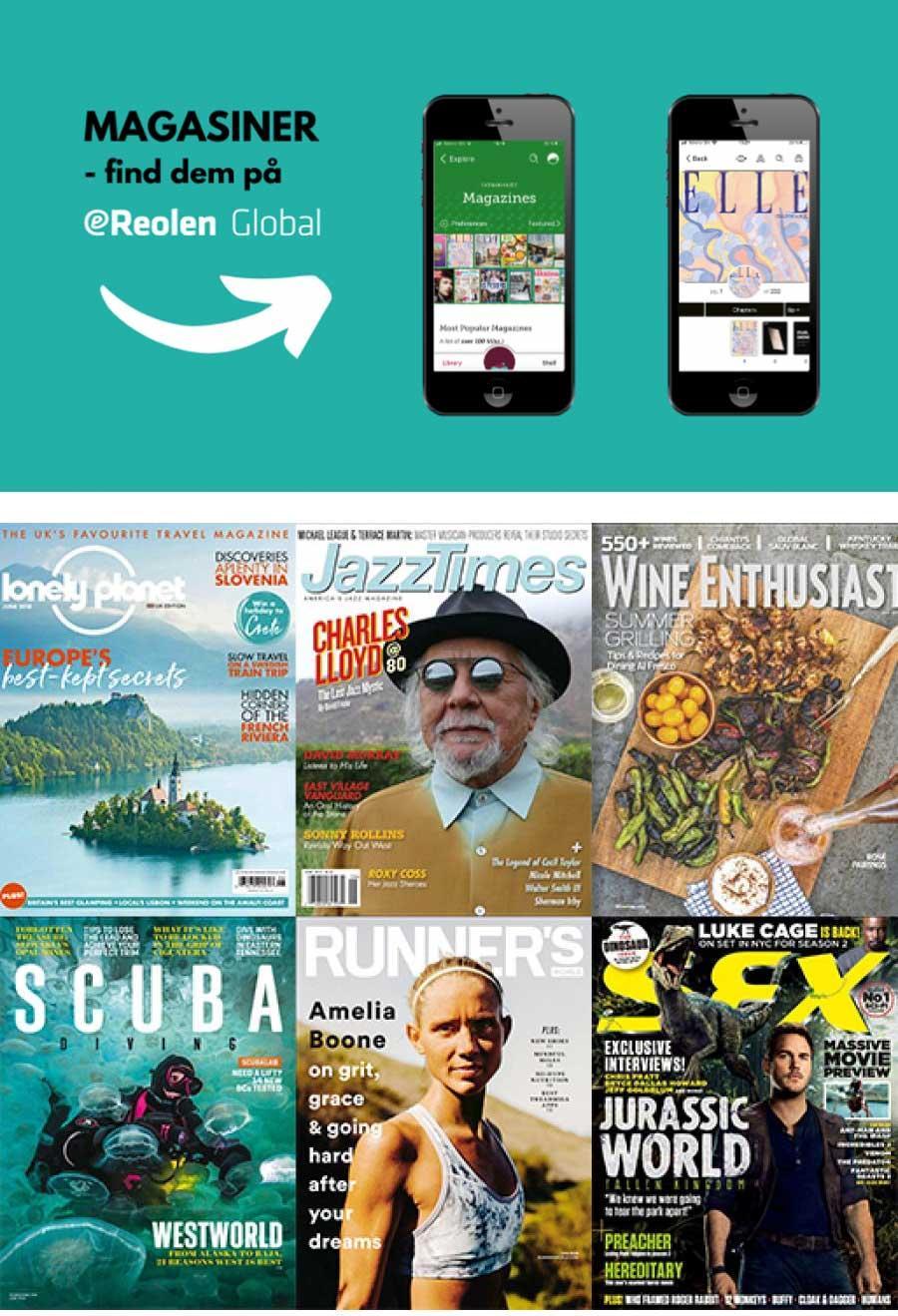 Digitale magasiner flytter fra rb digital til ereolen global og libby