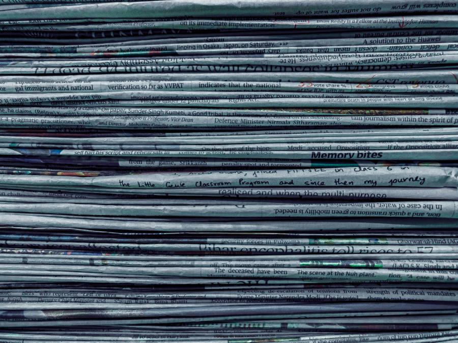 Din adgang til aviser og tiddskrifter