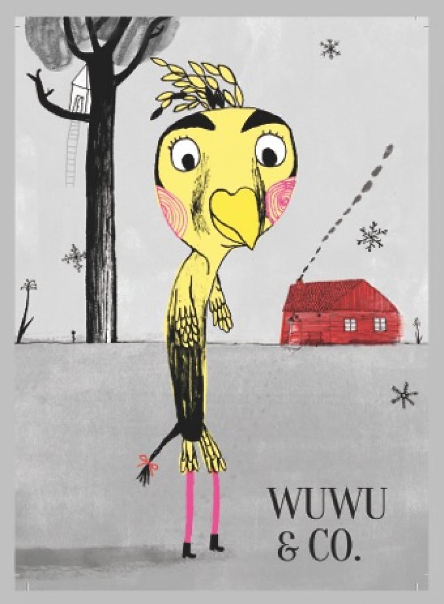 Wuwu & co er skabt af forfatter Merete Pryds Helle, illustrator Kamila Slocinska